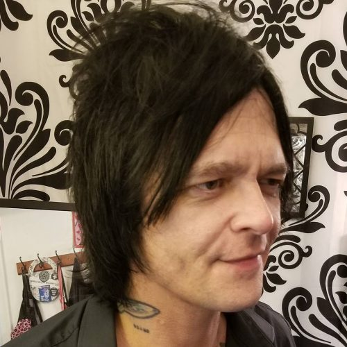 Wearable Rocker Shag hairstyle