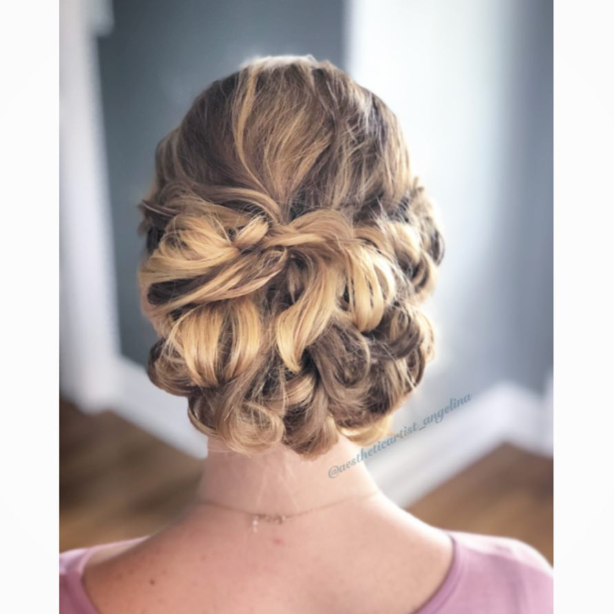 Whimsical Updo Hairstyle