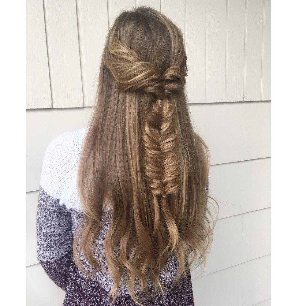 Whimsical with a Boho Twist hairstyle