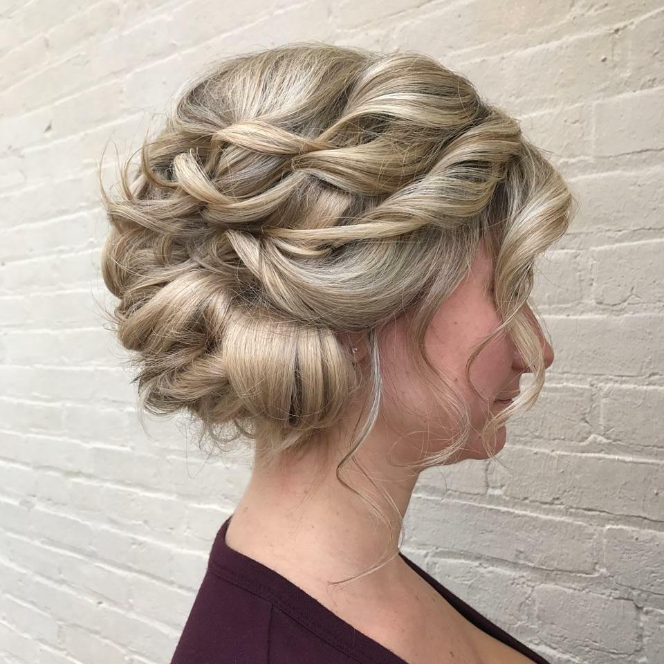 Worry-Free Upstyle hairstyle