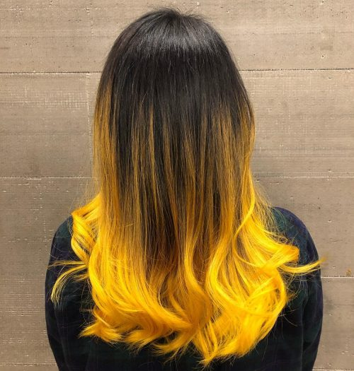 21 Surprisingly Trendy Yellow Hair Color Ideas in 2019